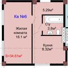 Продажа квартиры в клубном доме