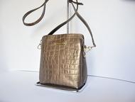 Кожаная сумка- cross-body Сумка женская кожаная Cross-body Venison/Венисон -№ 13