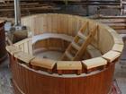 Новое изображение Строительство домов Японская купель с подогревом фурако из сибирского кедра 35458010 в Северске