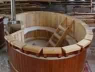 Японская купель с подогревом фурако из сибирского кедра Фурако это купель с печь