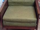 Фото в   Отдам даром б/у кресло - кровать зеленого в Шуе 0