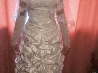 Уникальное изображение Свадебные платья Продам свадебное платье в отличном состоянии! 33934396 в Смоленске