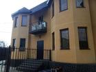 Новый двухэтажный монолитно-блочный таунхаус с отличным, кач