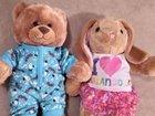 Build a Bear медведь и зайка и одежда