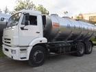 Увидеть foto Грузовые автомобили Молоковоз Камаз 65115 14,0 м3 (новый водовоз) 38497155 в Калининграде