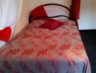 Кровать c ортопедической основой и ортопедическим матрацем Кровать c ортопедичес