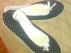 Фотография в Одежда и обувь, аксессуары Женская обувь Тапочки черные в белый горошек, размер 36, в Сыктывкаре 350