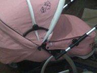 продам коляску Продам коляску зима-лето розового цвета в хорошем состоянии 2000р