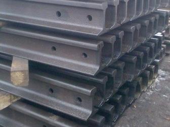 Уникальное foto  На складе новые Крановые рельсы КР-70, КР-80, КР-100, КР-120,КР-140 39449704 в Астрахани