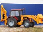 Скачать изображение Трактор экскаватор -погрузчик на тракторе мтз 33924515 в Татарске