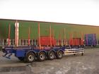 Скачать бесплатно фото Сортиментовоз (лесовоз) Полуприцеп - сортиментовоз 4х-осный Steelbear SAF INTRA (усиленный) 37949730 в Тюмени