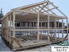 Свежее фотографию Строительство домов Каркасный дом 6 м х 6 м с небольшим крыльцом 43834226 в Тюмени