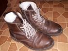Новое изображение  Продам зимние кожаные ботинки мужские размер 42 натуральный мех, Покупали в магазите Терволина за 9000 72286657 в Тюмени