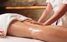 Антицеллюлитный массаж с обертыванием
