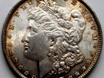 Свежее фото  Продам 1 доллар, 1887 года, Доллар Моргана, (США) 69607484 в Тюмени