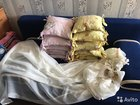 Бортики-подушки с балдахином и кронштейном