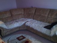 Продам угловой диван из дубленой кожи Продам угловой диван из дубленой кожи в от