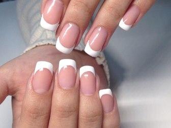 Скачать фото  Наращивание ногтей, покрытие шеллаком, маникюр 40059061 в Томске