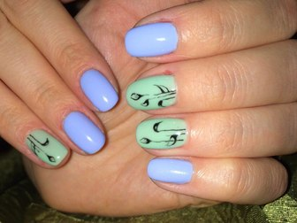 Уникальное фото  Наращивание ногтей, покрытие шеллаком, маникюр 40059061 в Томске