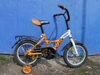 Изображение в   Продается велосипед детский с доп. колесами, в Туле 3000