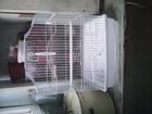 Изображение в   Клетка для волнистого попугая новая белого в Туле 500