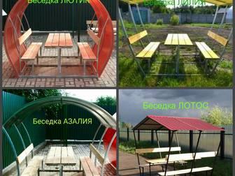 Смотреть фото  Беседки для дома и дачи, Доставка по всей области бесплатная, 38829052 в Астрахани