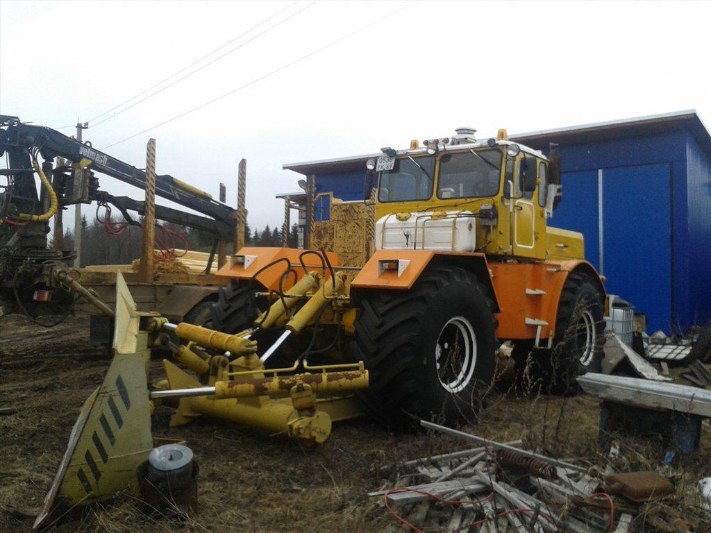 Трактор Чувашпиллер 244 с кабиной - YouTube
