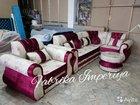 Угловой диван с креслом от фабрики