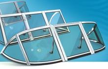 стекло и тент для моторной лодки