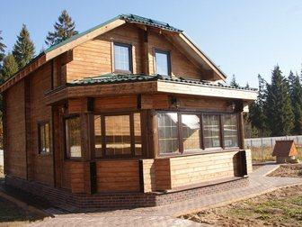 Уникальное foto  Строительство домов таунхаусов бань коттеджей из сухого профилированного бруса 32902220 в Москве
