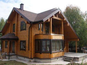 Увидеть фото  Строительство домов таунхаусов бань коттеджей из сухого профилированного бруса 32902223 в Москве