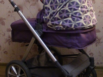 Скачать foto Детские коляски Коляска-трансформер 2в1 Happy Baby Ultra Purple 38660266 в Твери