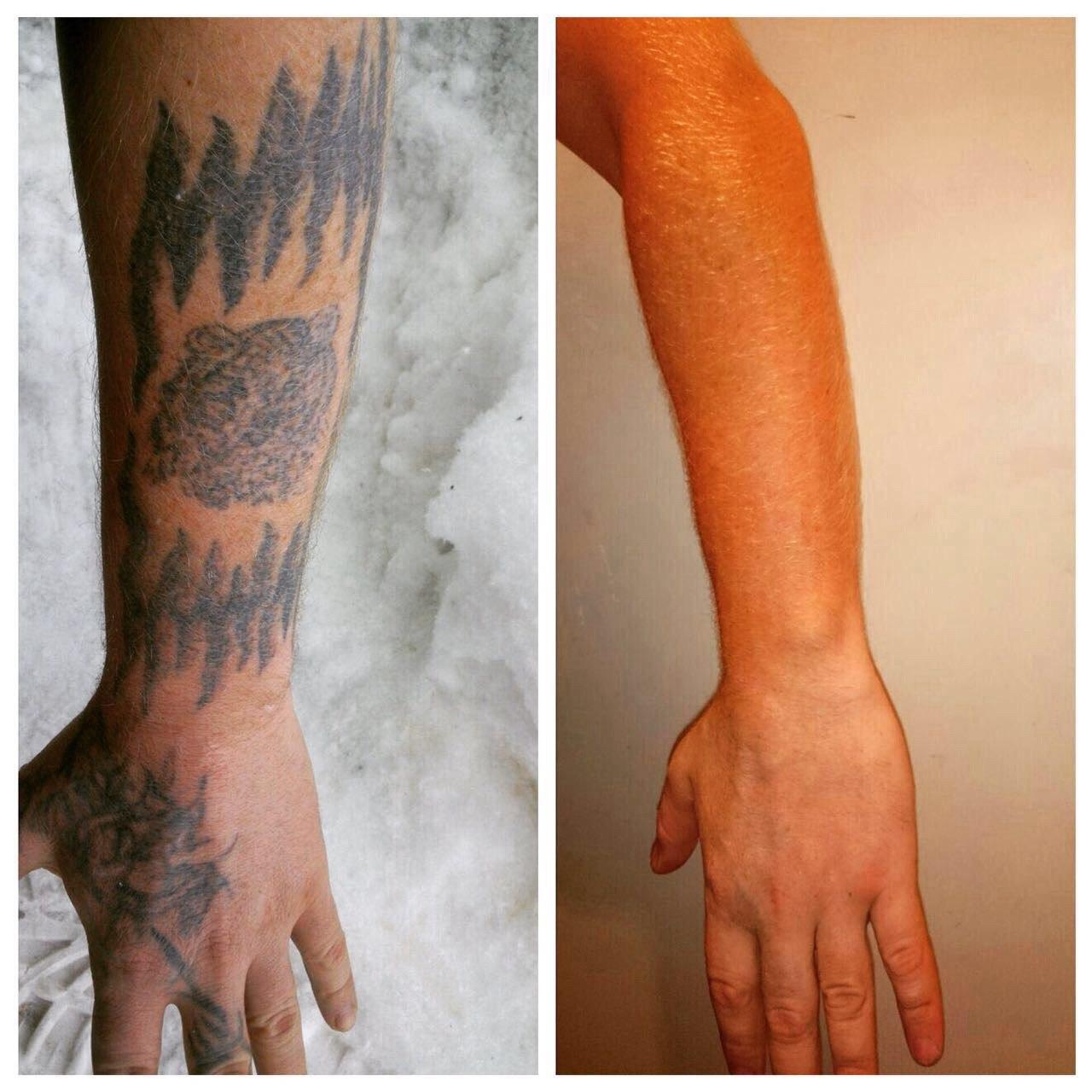 Как добавить на фото татуировку