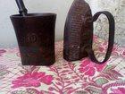 Свежее фотографию Антиквариат Продам старинный утюг(34)на углях, ступу, ящик для косметики с гербом, старинное зеркало в резной раме 33849325 в Уфе