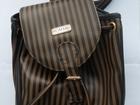 Просмотреть фотографию Женские сумки, клатчи, рюкзаки Рюкзачок, коричнево-чёрный 67717467 в Уфе