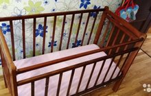 Кровать детская с матрцем
