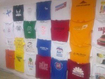 Свежее фото  Печать на футболках, спецодежде, 32374446 в Уфе