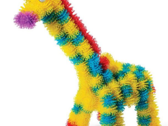 Уникальное фото Детские игрушки Мягкий конструктор-липучка Банчемс 400 деталей 37192539 в Уфе