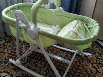 Продам б/у пару раз детскую коляску(шезлонг) babyton, состояние отличное, причина продажи гиперактивность ребенка, Состояние: Б/у в Уфе
