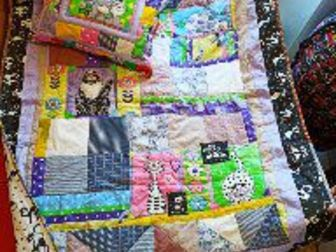 Лоскутное одеяло детское, Состояние: Новый в Уфе