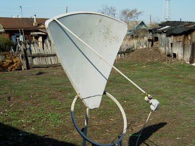 Спутниковая тарелка своими руками фото