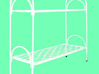 Смотреть фотографию Мебель для спальни Кровати с прочными металлическими сетками, ЛДСП кровати 72758651 в Ульяновске
