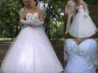 Фотография в Одежда и обувь, аксессуары Свадебные платья Платье в отличном состоянии. Топ белая птичка, в Уссурийске 11000