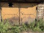 Деревянные гаражные ворота б/у
