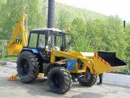 Экскаватор ЭО 2626 (фронтальный/челюстной ковш) на базе тракторов МТЗ Экскаватор