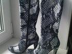 Смотреть фото Женская обувь Сапоги весна-осень, р, 36 на 35, натур, кожа 39294828 в Владимире