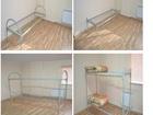 Уникальное фото Мебель для дачи и сада Кровати металлические для строителей оптом и в розницу с доставкой 39823200 в Волгограде