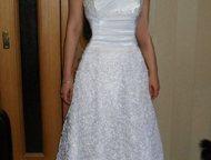 Продам свадебное платье р-р 44-46 Продаю свадебное платье р-р 44-46, цвет: белый