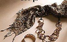 Шарф + ожерелье + браслет, Шикарный набор