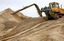 Песок строительный напрямую из карьера